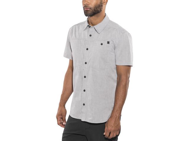 Black Diamond Chambray Modernist SS Shirt Men Slate